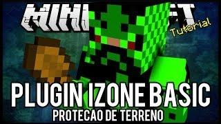 [Tutorial]iZone Basic - Proteção de Terreno Minecraft
