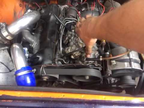 vw t3 first good run with t3 1600td diesel pump youtube. Black Bedroom Furniture Sets. Home Design Ideas