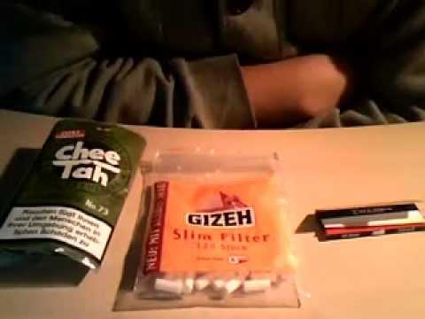 Zigaretten Drehen Mit Filter