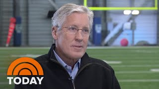 Pete Carroll Interview: 'It Was The Worst Result Of A Call Ever' | TODAY