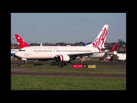 オーストラリアの航空会社の飛行...
