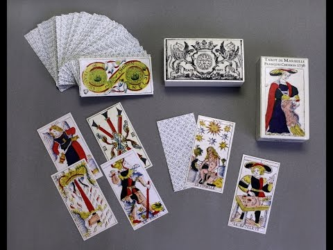 Tarot de Marseille by Francois Chosson 1736