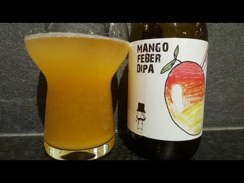 Brewski Mango Feber DIPA By Brewski Bryggeri | Swedish Craft Beer Review