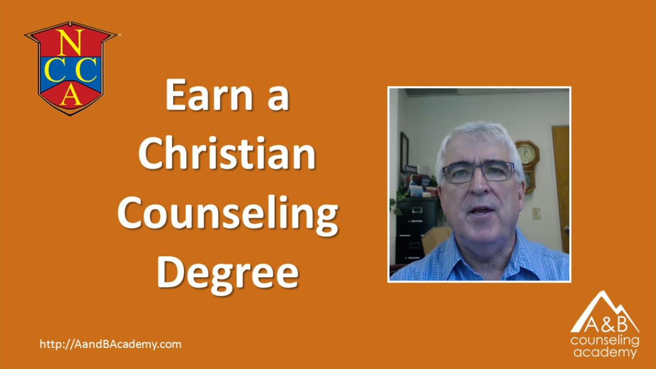 Christian Counseling Degrees Youtube