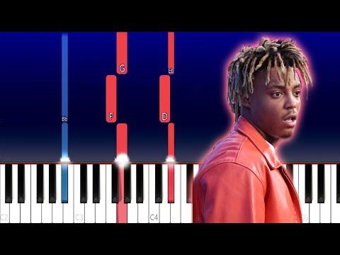 Juice WRLD - Moonlight (Piano Tutorial) thumbnail