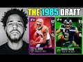 THE 1985 DRAFT! PLAYERS BORN CLOSEST TO 1985 IN EVERY ROUND! Madden 18 Draft Champions