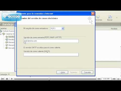 Como crear una cuenta en Microsoft Outlook Express por www.nexovirtual.net