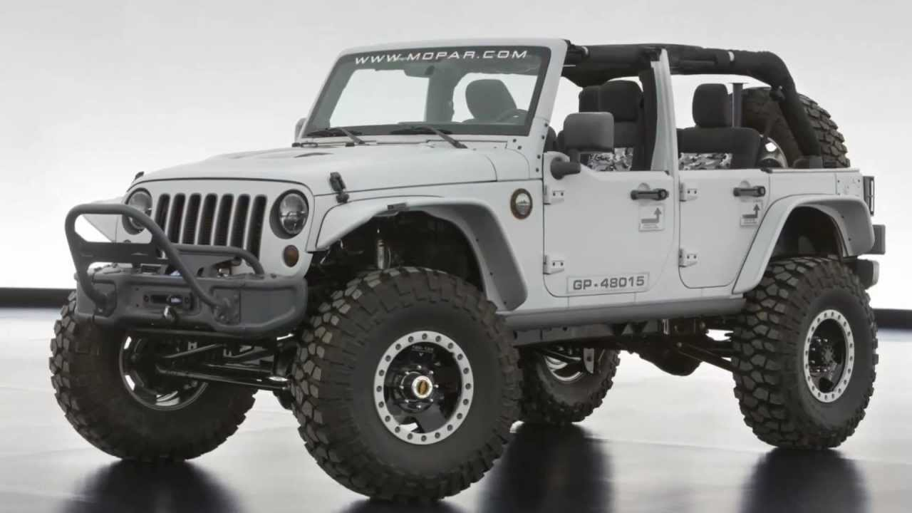 Superb 2013 Jeep Wrangler Mopar Recon 6.4 Hemi V8 470 Cv @ Easter Jeep Safari    YouTube