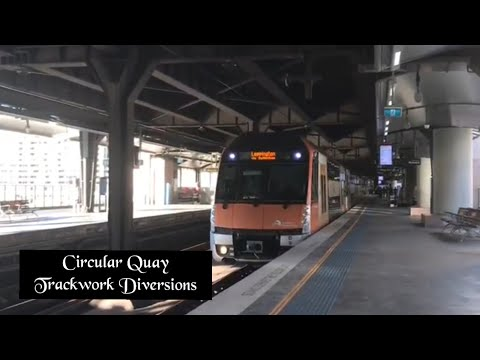 Sydney Trainspotting Vlog 16: Circular Quay
