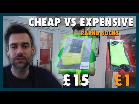 £1 Vs £15 Rapha Cycling Socks - What's The Difference?