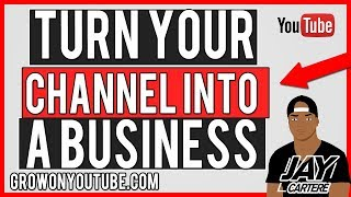 How To Turn Your YouTube Channel Into A Business - Wintonee Consulting Session - YouTube Guide