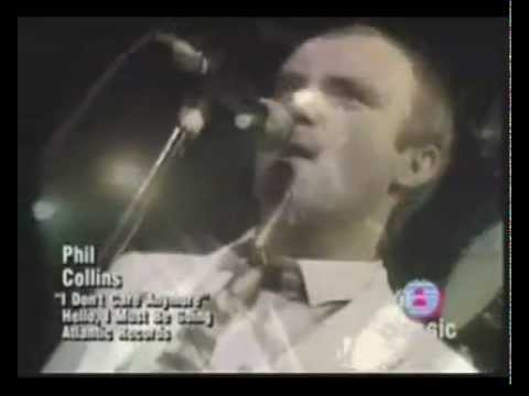 Phil Collins I Don't Care Anymore (Officiel Music Video 1983)