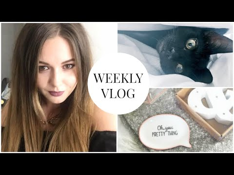 Weekly Vlog #8 - Blogger Mail, Percy Playing Fetch & Cocktail Making