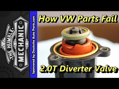 How The 2 0T Diverter Valve Fails - YouTube