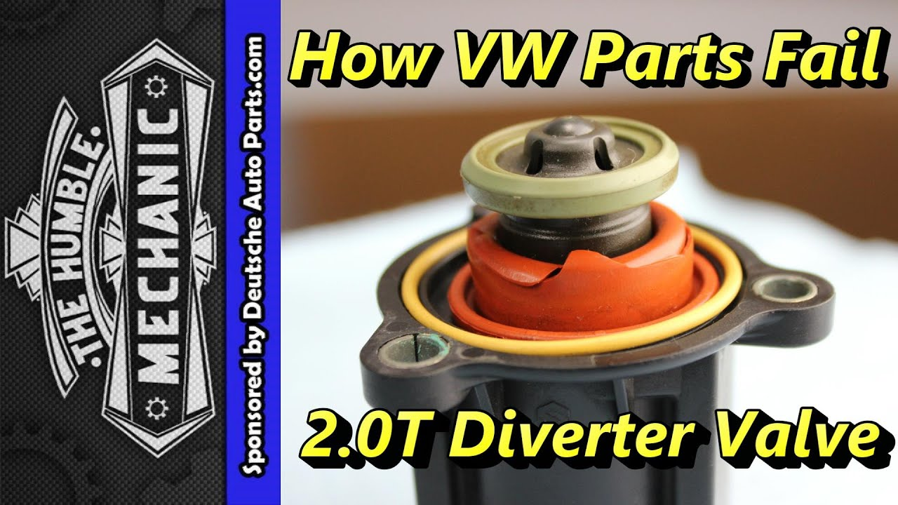 How The 20t Diverter Valve Fails Youtube Ac Compressor Wiring Plug Pigtail 9299 Vw Jetta Golf Gti Passat