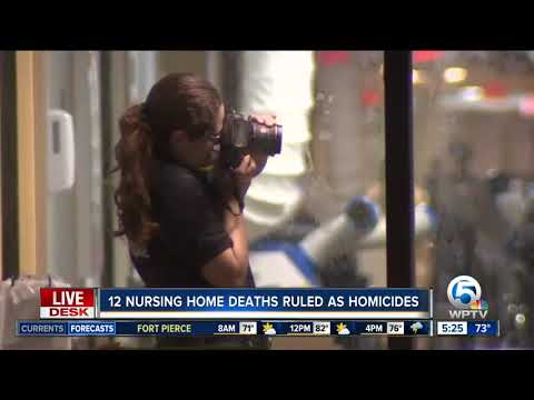 Thumbnail: 12 of 14 Hollywood Hills nursing home deaths after Hurricane Irma ruled homicides