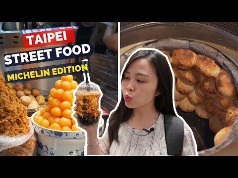 13 MUST TRY Taiwanese Street Food | Taipei Night Market Tour - MICHELIN Bib Gourmand 2019
