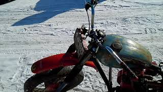 Мотоцикл боббер с двигателем от мотоблока. обзор.