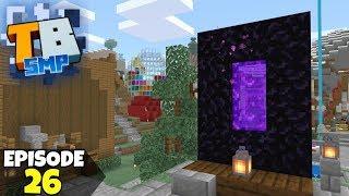Truly Bedrock Episode 26! Tiny Cursed Portal & More! Minecraft Bedrock Survival Let's Play!