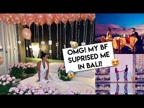OMG! My Boyfriend Surprised Me in Bali 😭❤️ | Dhar and Laura