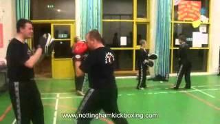 Training Session Pka Kickboxing Clifton/east Leake