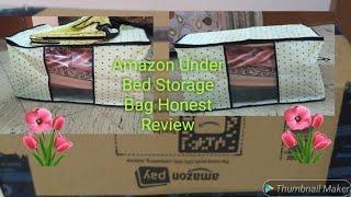 Amazon unboxing Under Bed Storage Bag, Wardrobe Organization honest Review