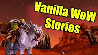 Vanilla WoW Stories: Durotar, Orgrimmar and Mulgore