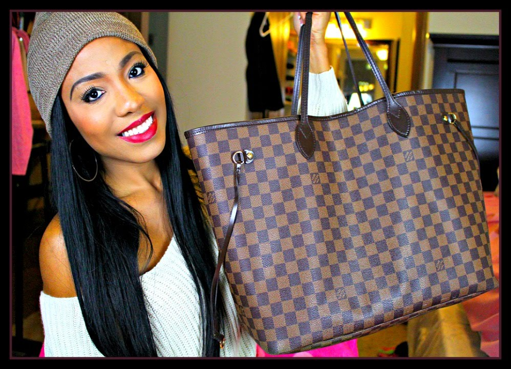 1bf02b4a244f What s In My Bag 2018 Louis Vuitton + Designer Replica Haul - YouTube