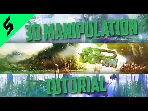 3D Manipulation Tutorial | Cinema 4D & Photoshop CC