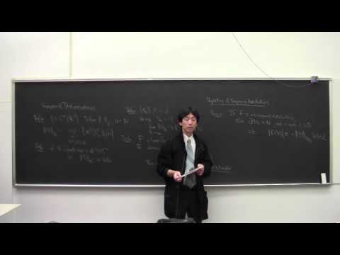 Functional Analysis Lecture 16 2014 03 25 Tempered Distributions