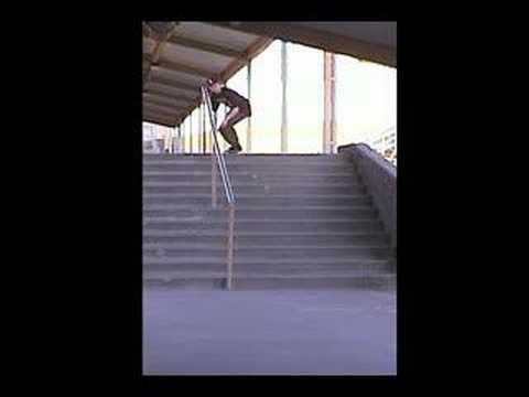 Austin Gilliland Kickflip 11 stair