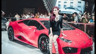 Triển lãm ôtô - Siêu xe & dàn hot girl bốc lửa - Vietnam Motorshow - Supercar & hotgirls