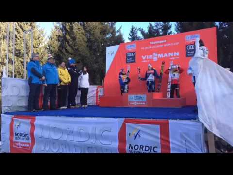 Tour de Ski 2017 - Ladies Prize Giving Ceremony