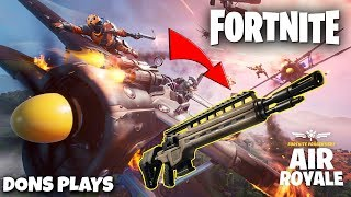 🔴 FORTNITE PLANES ARE BACK!! + *NEW INFANTRY RIFLE* || 300 LIKE GOAL || GIVEAWAY 🔴