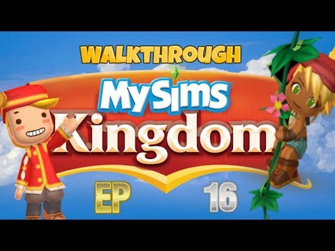 My Sims Kingdom Walkthrough Part 16: Finishing The Forest Of The Elves!