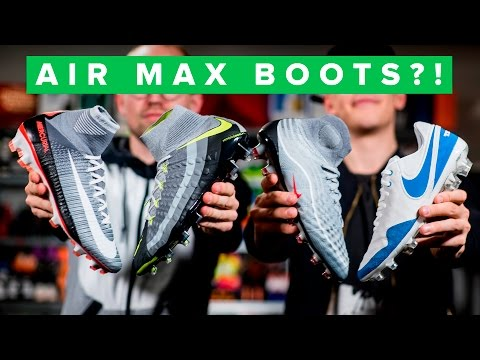AIR MAX Nike Revolution Pack - epic Air Max boots