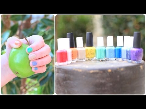 Spring Nail Polish Haul | Brooklyn and Bailey