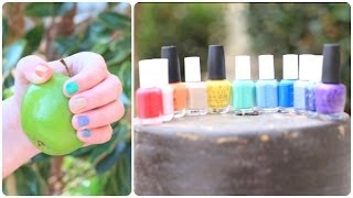 Spring Nail Polish Haul | Brooklyn and Bailey Thumbnail