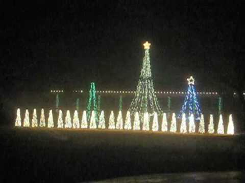 Dancing Christmas Tree Lights in sync with local radio station