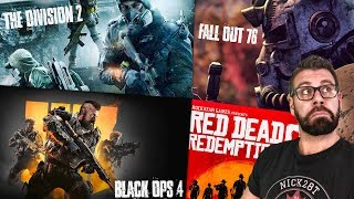 TOO MANY AWESOME GAMES  COMING! - FALLOUT 76 - BLACK OPS 4 - BATTLEFIELD 5 - RED DEAD 2 - E3
