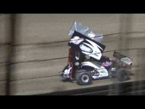 Paradise Speedway Brandyn Griffin Feature 8/6/16