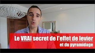 Le VRAI secret de l'effet de levier et du pyramidage en bourse