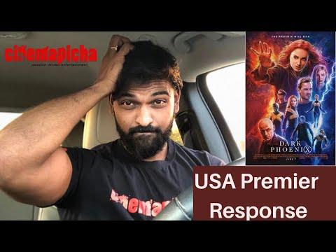 Dark Phoenix USA Premier Response