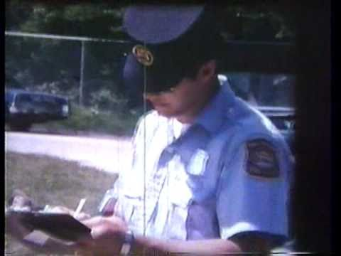 Michigan State Police Promotional video 70's era 1 of 2