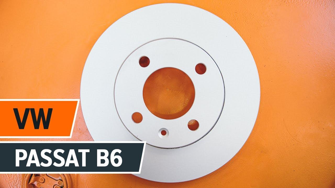 comment remplacer des disques de frein arri re et plaquettes de frein arri re sur une vw passat. Black Bedroom Furniture Sets. Home Design Ideas