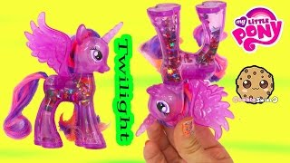 MLP Water Cuties Glitter Princess Twilight Sparkle Rainbow Shimmer My Little Pony Toy Unboxing Video
