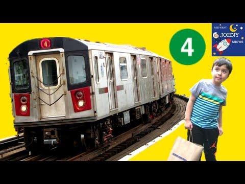 MTA SUBWAY Train Ride To Broadway MTA Transit Museum Store For NEW MTA Train Toys