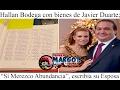 """Hallan Bodega con Bienes de Javier Duarte; """"Sí Merezco Abundancia"""", escribía su Esposa"""