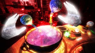 Making Potions and Casting Spells in VR! - Waltz of the Wizard Gameplay - VR HTC Vive