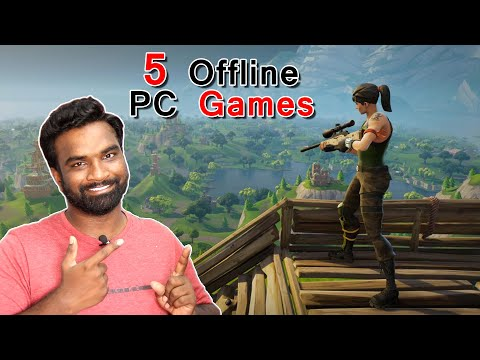 Top 5 best Offline games for pc | a to z tech videos thumbnail